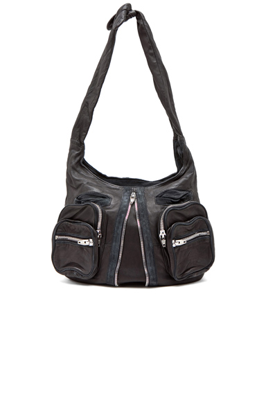 ALEXANDER WANG | Donna Hobo in Black