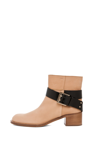 CHLOE | Biker Boot in Taupe