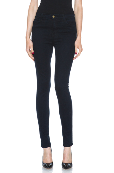 J BRAND | Maria High-Rise Skinny in Bluebird