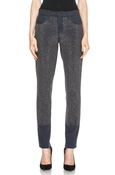 J BRAND | Petra Boy Fit Studded Jean in Weathered Black