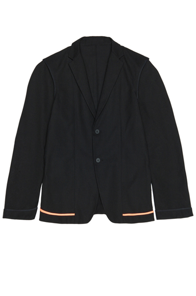 JIL SANDER | Clio Poly-Blend Jacket in Black