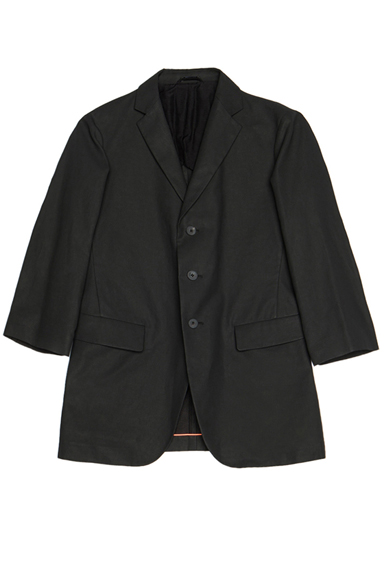 JIL SANDER | Corinne Linen-Blend Jacket in Black