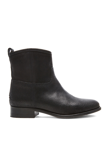 JIMMY CHOO | Harley Ankle Leather Boots in Black