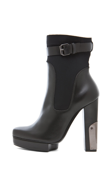LANVIN | Bootie in Black