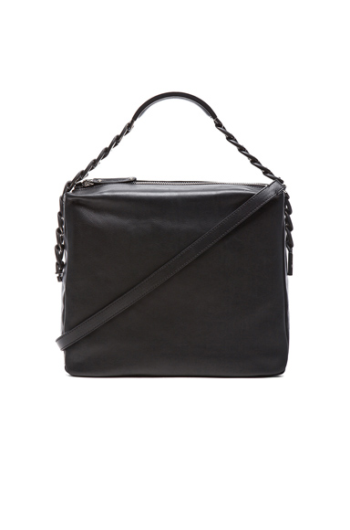 Maison Martin Margiela|Chain Shoulder Bag in Black [1]
