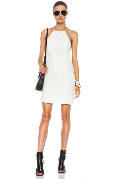 RAG & BONE | Anna Cotton-Blend Dress in White