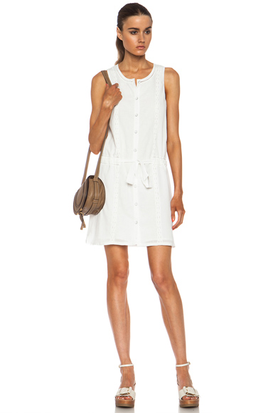 RAG & BONE | Marcy Cotton Dress in White