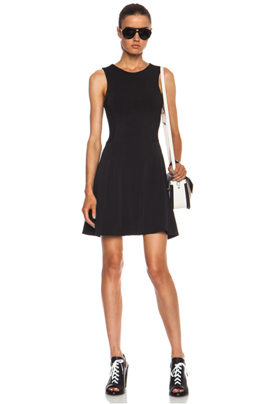 RAG & BONE | Geneva Poly-Blend Dress in Black