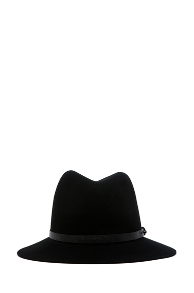 RAG & BONE | Floppy Brim Fedora in Black