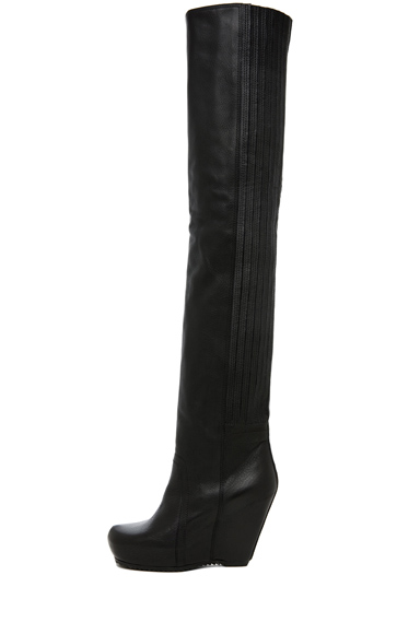 RICK OWENS | Wedge Boots in Black