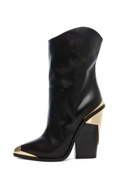 VERSACE | Booties in Black