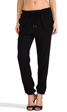 10 CROSBY DEREK LAM RUNWAY Track Pant in Black