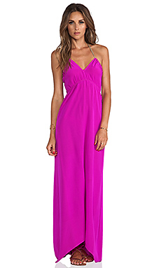 Assali Livia Dress in Fuchsia