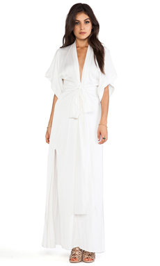 Assali Kitara Dress in Crisp White