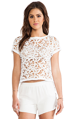 Assali Alexia Lace-T in White