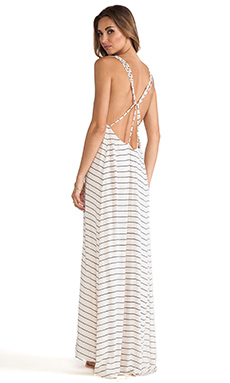 Acacia Swimwear Moorea Maxi Dress in Cape Cod