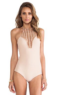 Acacia Swimwear Teahupo'o One Piece in Naked