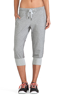 adidas by Stella McCartney ESS 3-4 Sweatpant in Core Heather