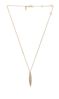 Alexis Bittar Short Spear Pendant Necklace in Gold