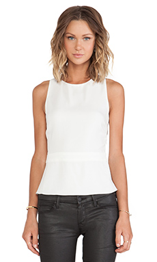 A.L.C. Payton Top in White