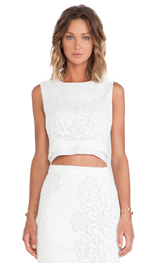 A.L.C. Maxwell Top in Optic White