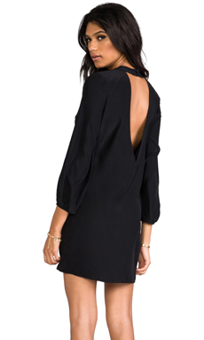 Amanda Uprichard Cut Out Dress in Black