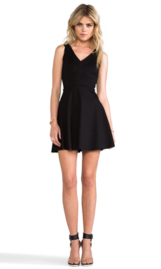 Amanda Uprichard Havana Dress in Black