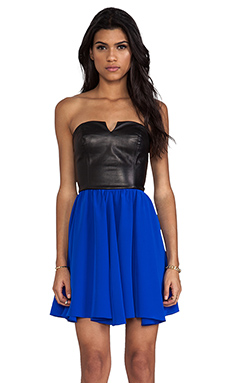 Amanda Uprichard Party Girl Dress in Royal