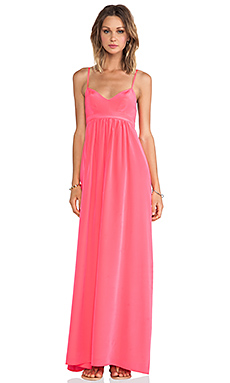 Amanda Uprichard Maxi Gown in Electric Rouge