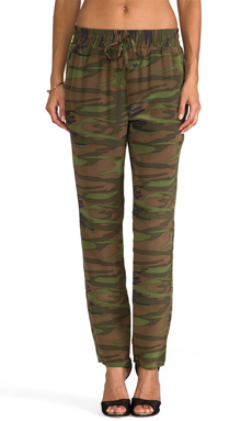 Amanda Uprichard Tribeca Pant in Camo