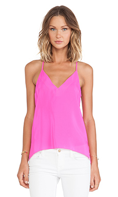 Amanda Uprichard Cricket Top in Hot Pink