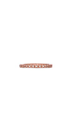 Alex Mika Rose Gold Band in Rose Gold