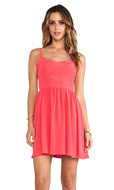 amour vert Misa Dress in Teaberry