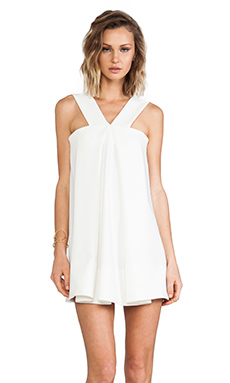 AQ/AQ Amp Mini Dress in Cream
