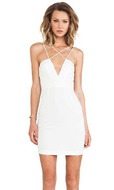 AQ/AQ Yarra Mini Dress in Cream