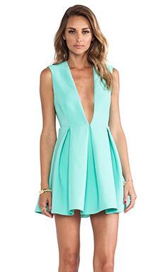 AQ/AQ Upper Mini Dress en Bermuda