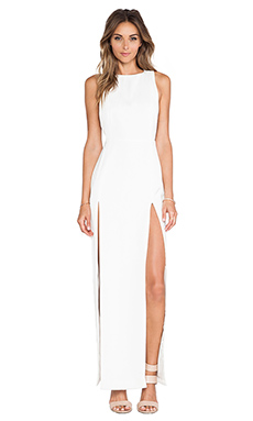 AQ/AQ Lexi Maxi Dress in Cream