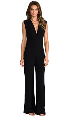 AQ/AQ Phoebe Jumpsuit in Black