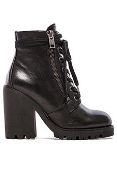 Ash Poker Bootie in Black