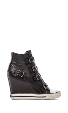 Ash United Sneaker Wedge en Noir