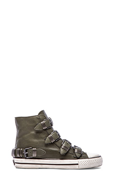 Ash Vodka Sneaker in Military