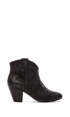 Ash Jalouse Bootie in Black