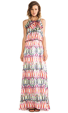 Alexis Cornelia Printed Maxi Dress in Kaleidoscope