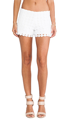 Alexis Lemarie Shorts in Dotted Crochet
