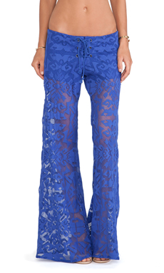 Alexis Lille Wide Leg Pants in Indigo