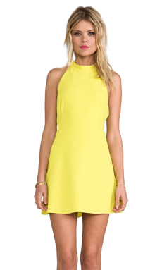 Backstage Annelyse Dress in Citrus