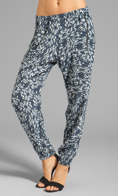 Backstage Phoenix Pant in Ink Print