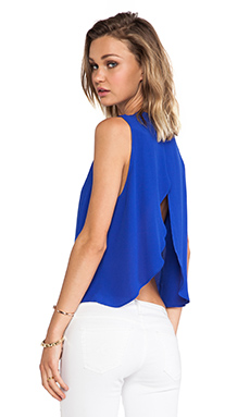 Backstage Audrey Top in Cobalt