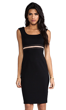 Bailey 44 Bardot Dress in Black