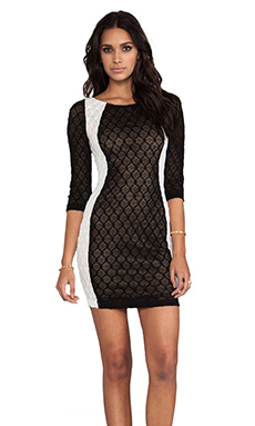 Bailey 44 Alexis Dress in Black & White